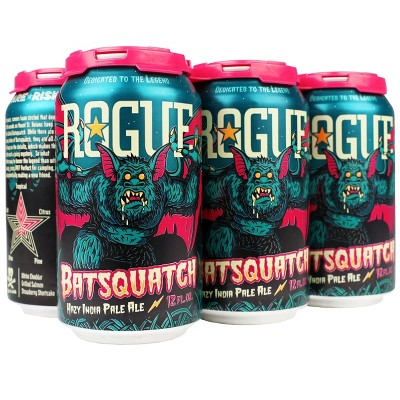 Rogue Batsquatch Hazy IPA Beer - 6pk/12 fl oz Cans