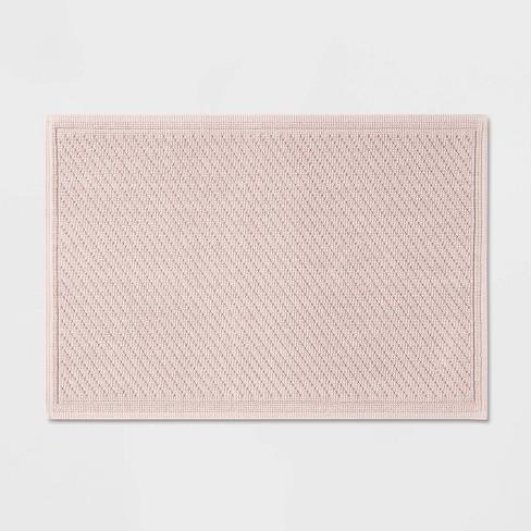 "21""x30"" Performance Solid Cotton Bath Mat - Threshold™ - image 1 of 3"