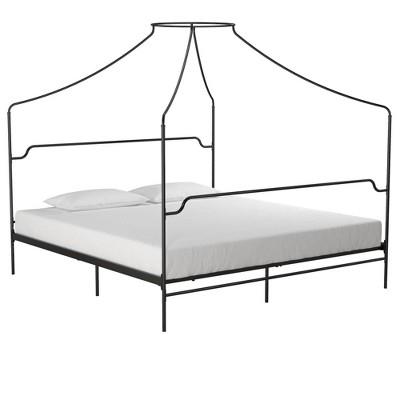Camilla Metal Canopy Bed - Novogratz
