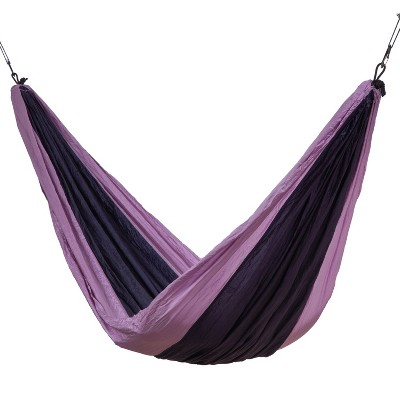 Makena Camping Hammock - Pink/Purple - Sol Living