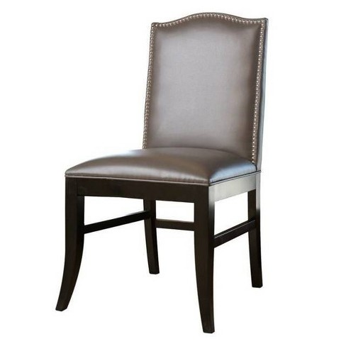Dining Chair Wood/Gray - Abbyson Living - image 1 of 3