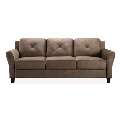Harper Tufted Microfiber Sofa - Lifestyle Solutions