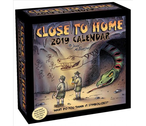 Close to Home 2019 Calendar -  by John McPherson (Paperback) - image 1 of 1