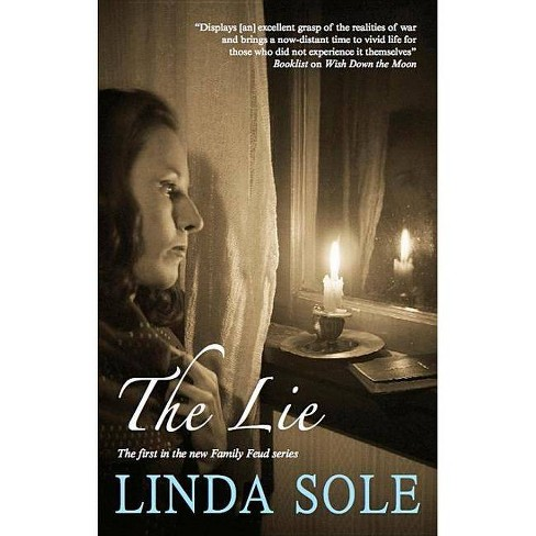 The Lie - (Severn House Large Print) by  Linda Sole (Hardcover) - image 1 of 1
