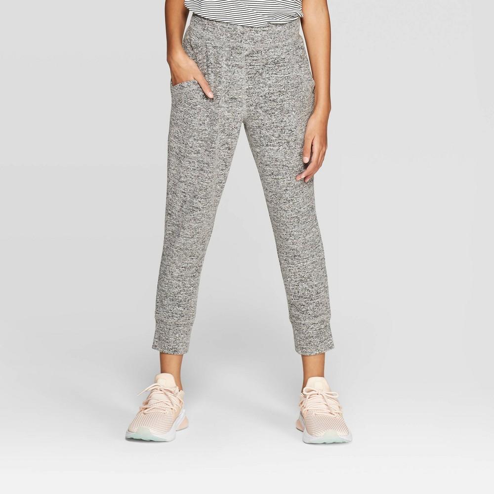 Girls' Cozy Jogger Pants - C9 Champion Grey Heather XS