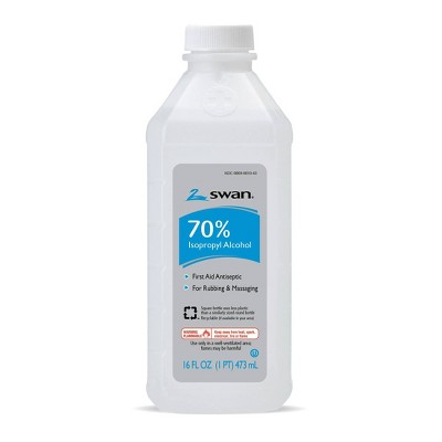 Isopropyl 70% Alcohol - 16oz - Swan