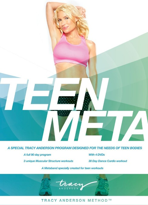 Tracy Anderson:Teen Meta (DVD) - image 1 of 1