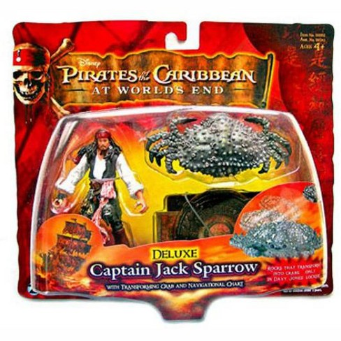 Pirates of the Caribbean At World's End Series 3 Captain Jack Sparrow Action Figure [Deluxe] - image 1 of 1