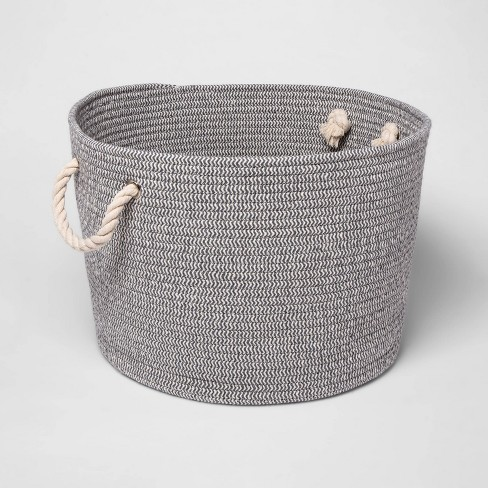 Large Round Coiled Rope Basket - Cloud Island™ - image 1 of 1