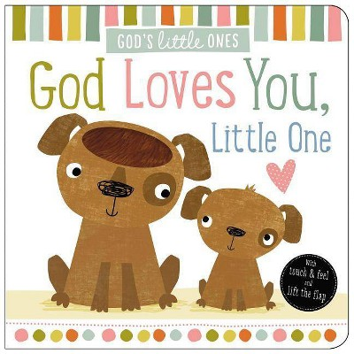 God Loves You, Little One - (God's Little Ones)by Thomas Nelson (Board Book)