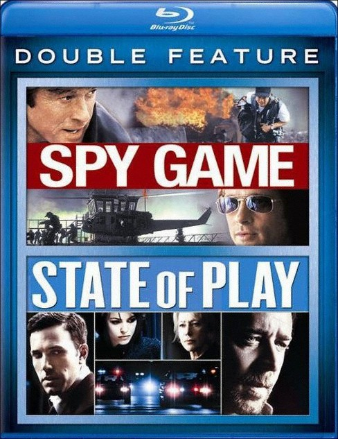 Spy Game/State of Play [Blu-ray] - image 1 of 1