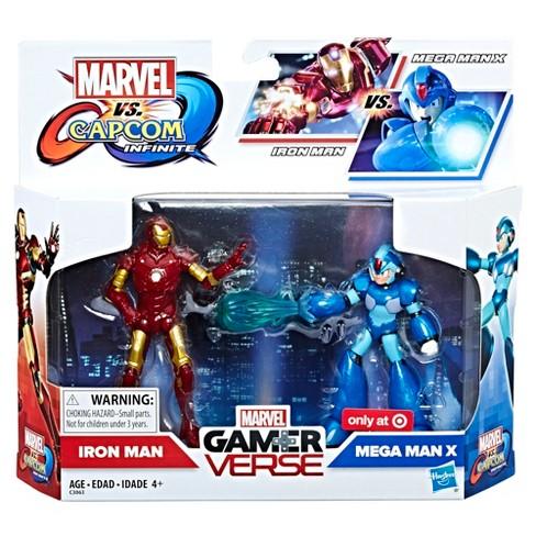 marvel action figure marvel vs capcom iron man mega man x