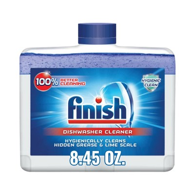 Finish Liquid Dishwasher Machine Cleaner - 8.45oz