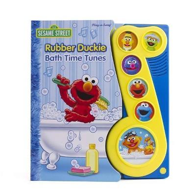 Sesame Street - Rubber Duckie Bath Time Tunes - Little Music Note Sound Book (Board Book)