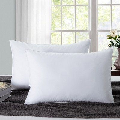 Puredown Down Feather Bed Pillow Set of 2