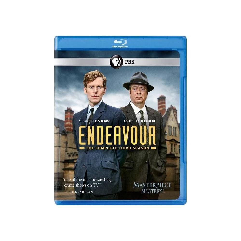 Endeavour Series 3 Blu Ray 2016