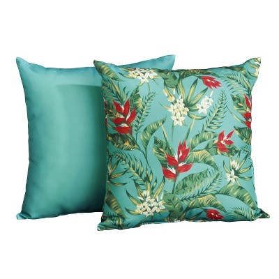Lakeside Exotic Outdoor Chair Cushions Set for Seats - 2 Pieces