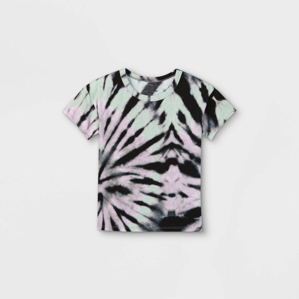 Toddler Tie Dye Short Sleeve T Shirt Art Class 8482 Black 18m