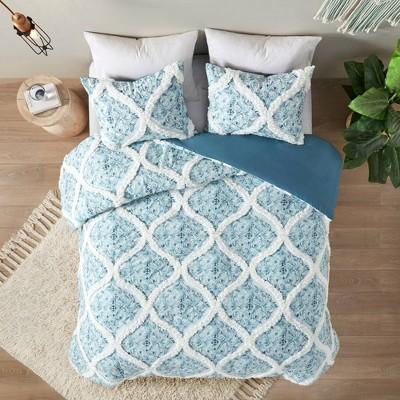 3pc Isadora Cotton Duvet Cover Set