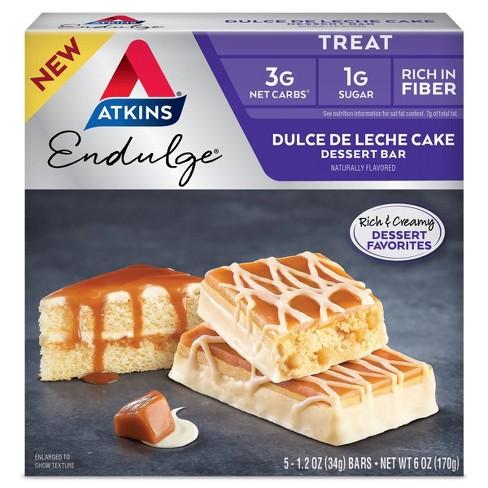 Atkins Endulge Dessert Bar - Dulce de Leche - 5ct - image 1 of 3