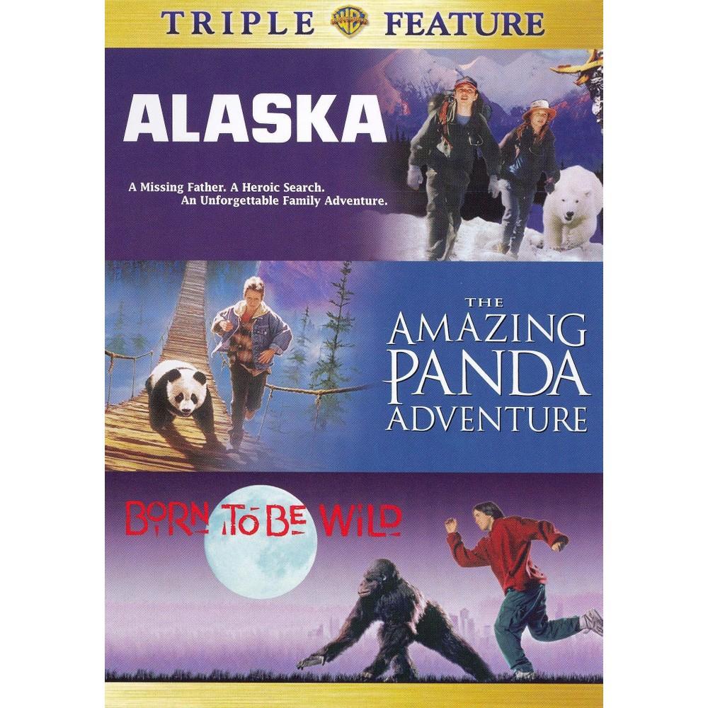 Born to be wildalaskaamazing panda (Dvd)