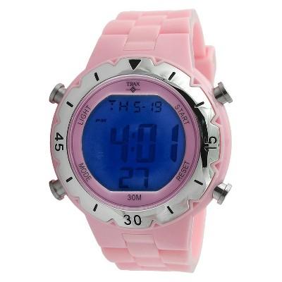 Trax Digital Rubber Chronograph Multifunction Watch