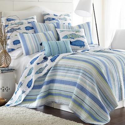 Catalina Quilt and Pillow Sham Set - Levtex Home