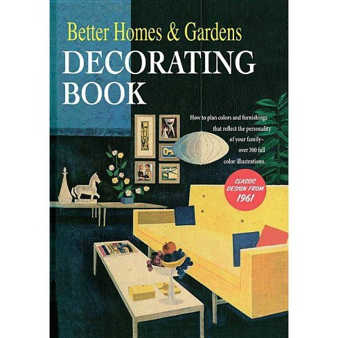 Better Homes And Gardens Decorating Book Hardcover Target