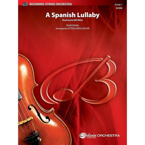 Alfred A Spanish Lullaby String Orchestra Grade 1 Set - image 1 of 1