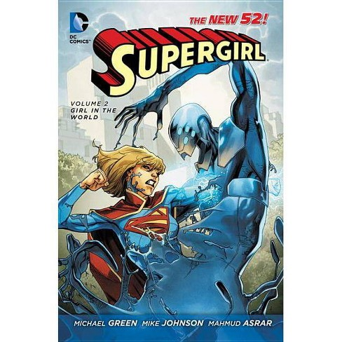 Supergirl Vol. 2: Girl in the World (the New 52) - 52 Edition by  Michael Green & Mike Johnson - image 1 of 1