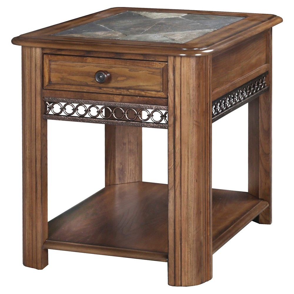 End Table Brown - Magnussen Home