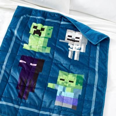 Minecraft Evil Spirits Weighted Blanket