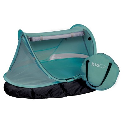 Kidco Portable Travel Bed-Peapod Prestige Playard - Seafoam