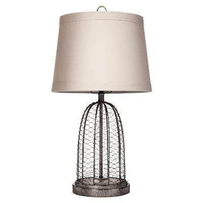 Baiter Table Lamp Gray Wire - Beekman 1802 FarmHouse™