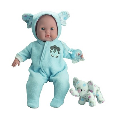 "JC Toys Berenguer Boutique 15"" Baby Doll - Blue Outfit"