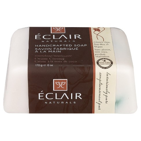 Eclair Naturals Handcrafted Bar Soap Creamy Coconut 6 oz - image 1 of 1