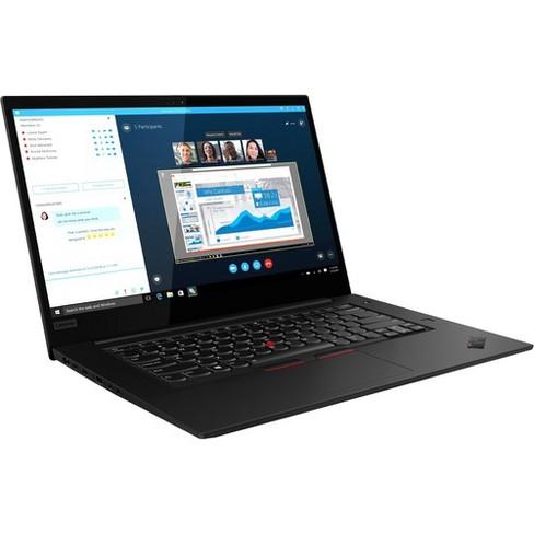 "Lenovo ThinkPad X1 Extreme Gen 2 20QV000DUS 15.6"" Notebook - 1920 x 1080 - Core i7 i7-9750H - 16 GB RAM - 512 GB SSD - Midnight Black - image 1 of 4"