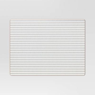 Cork Striped Placemat White - Threshold™