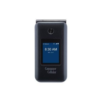 Consumer Cellular Postpaid Link II Flip (8GB) - Black