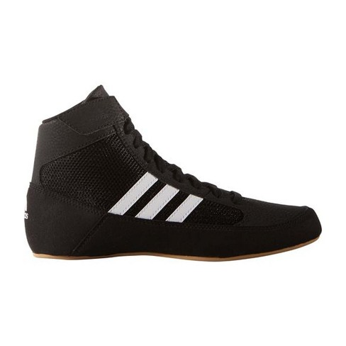 ff4ccc48f06 Adidas Youth HVC 2 Wrestling Shoes - Black 2.5   Target