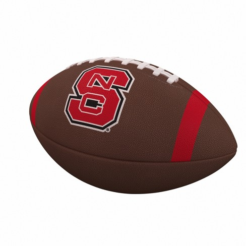 NCAA NC State Wolfpack Team Stripe Official-Size Composite Football - image 1 of 1