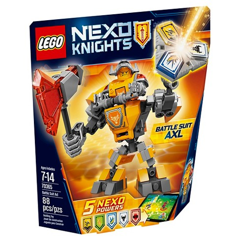 LEGO® Nexo Knights Battle Suit Axl 70365 - image 1 of 9