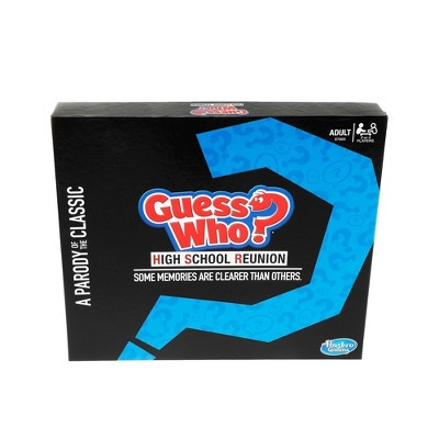 Guess Who? High School Reunion Parody Game Adult Party Game