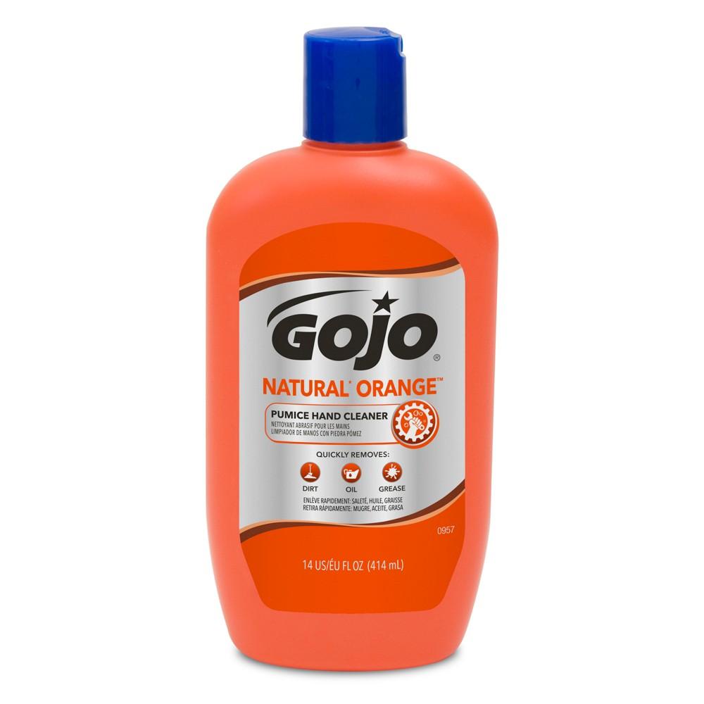Gojo Natural Orange Pumice Hand Cleaner - 14 fl oz