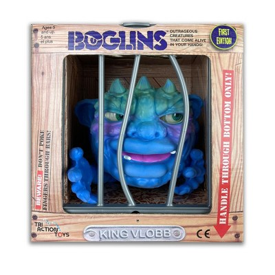 TriAction Toys Boglins 8-Inch Foam Monster Puppet | King Vlobb