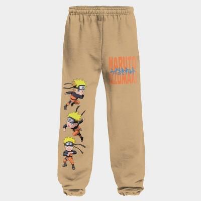 Men's Naruto Taper Jogger Pants - Beige