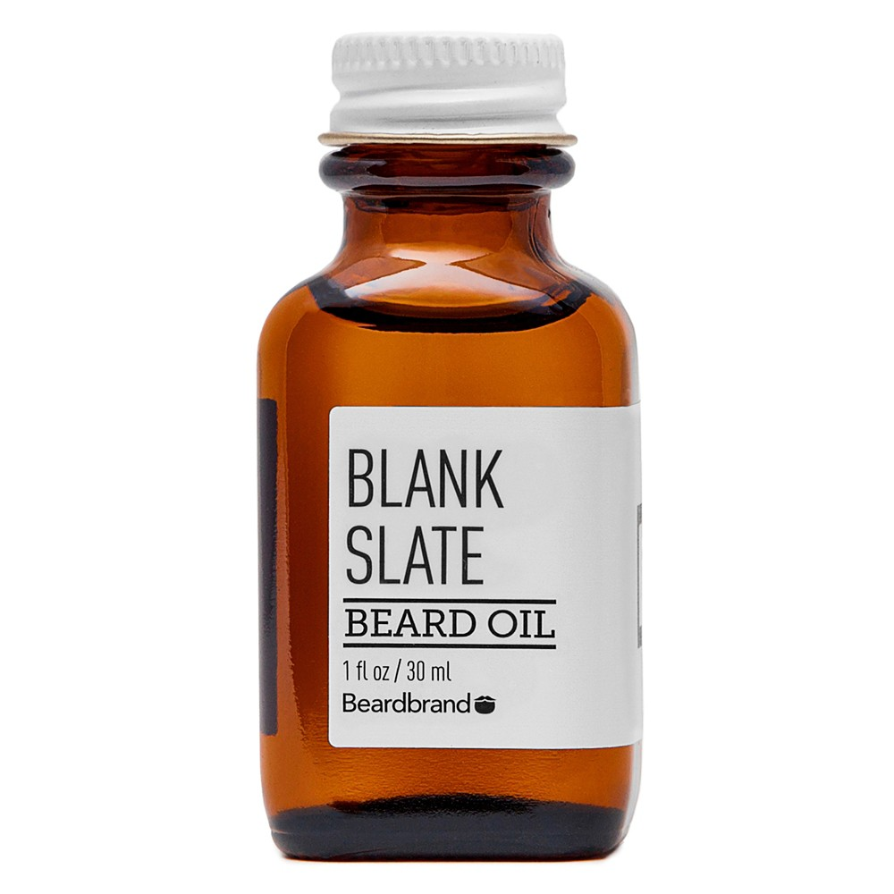 Image of Beardbrand Blank Slate Beard Oil - 1 fl oz