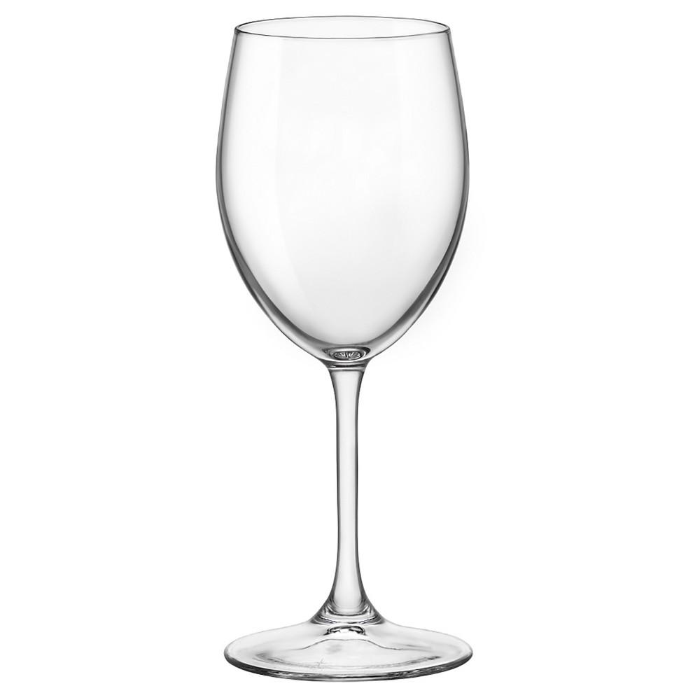 Image of Bormioli Rocco Momenti 13.5oz White Wine Glass - Set of 4, Clear
