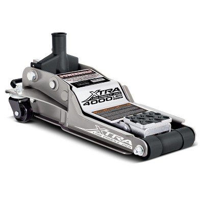 Powerbuilt 620479 Heavy Duty 2000 Pounds 1 Ton Extra Low Profile or Unibody Cars Floor Jack, Gray