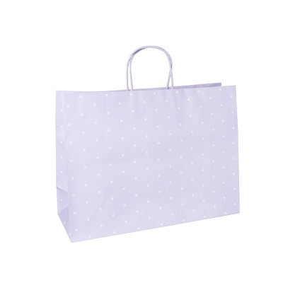 Large Dot Gift Bags Purple - Spritz™